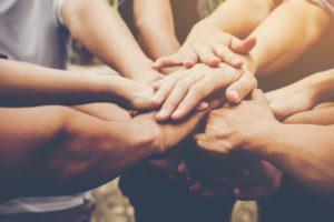 Ruce jako sombol spolupráce