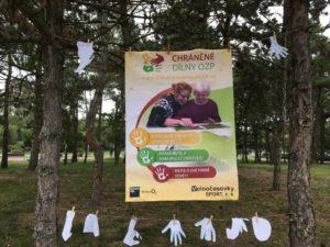 Posoter chráněné dílny OZP na festivalu Malšeičák 2017