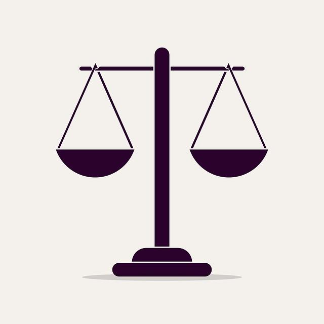 Váhy značící rovnovážnost principů sociálního podnikání.