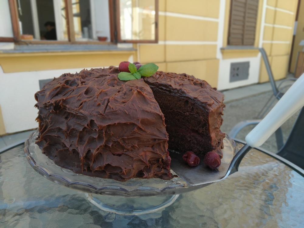Ukázka dortu, co pečou klienti dílny